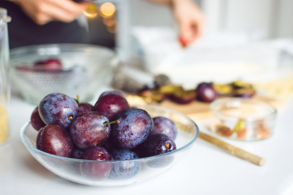 Eat organic plums all year