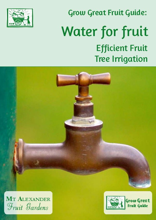 irrigation for organic fruit trees