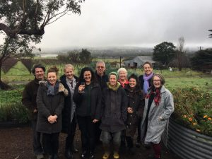 Funding announcement for Harcourt Organic Farming Alliance business plan - thanks RDV and Maree Edwards