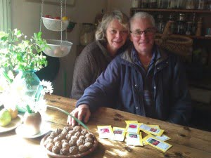 Richard & Chris - and our seeds!