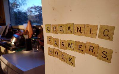 The organic road to glowing good health…