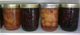 Cherries: preserving