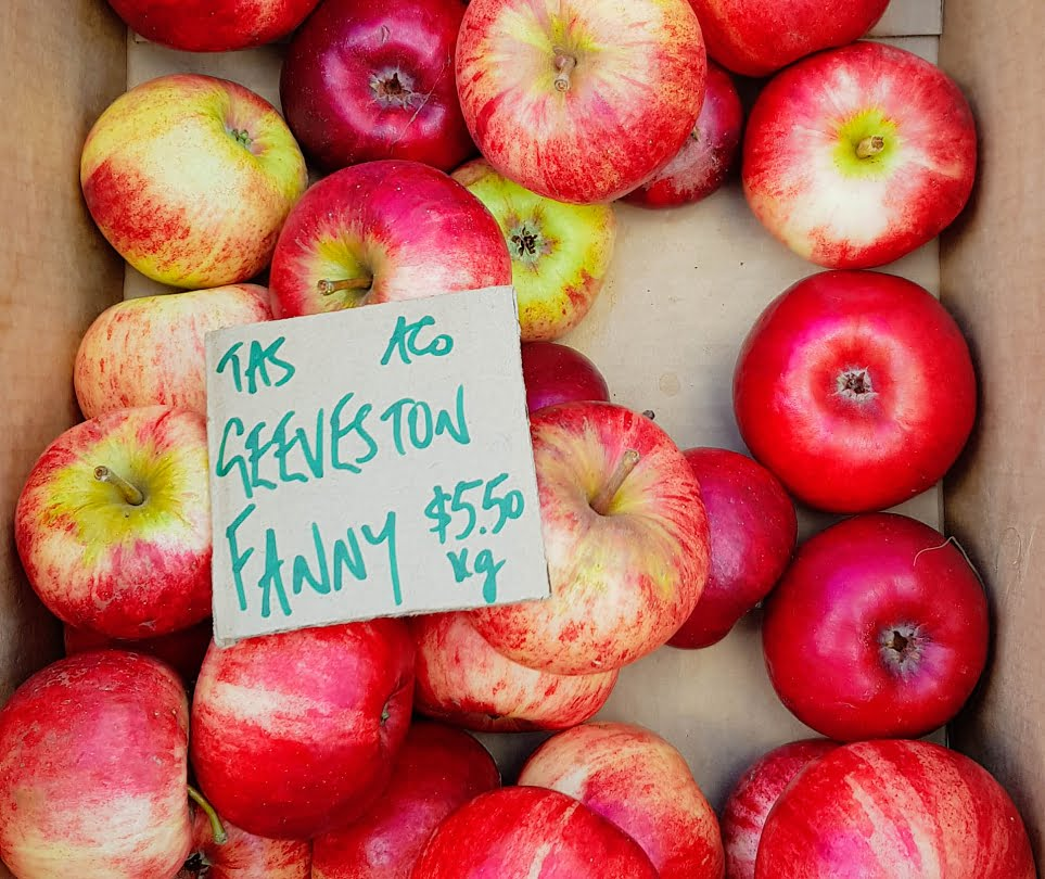 Geeveston Fanny, a popular and delicious Tasmanian apple variety